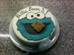cookiemonster taart billie 3jaar