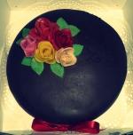 H&M 25 jaar getrouwd taart 02