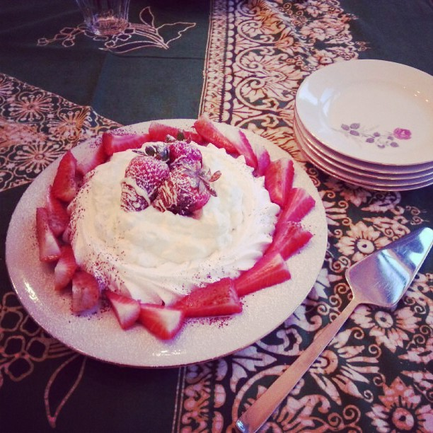 aardbei merengue